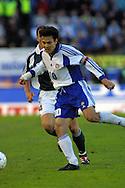 02.06.2001 Olympic Stadium, Helsinki, Finland. FIFA World Cup Qualifying Match, Finland v Germany. Jari Litmanen (FIN).<br />©JUHA TAMMINEN