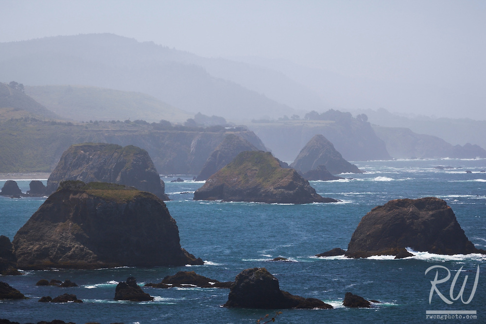 Coastal Seastacks, Mendocino County, California