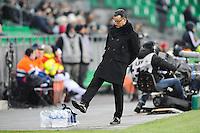 Christophe GALTIER - 25.01.2015 - Saint Etienne / PSG - 22eme journee de Ligue1<br /> Photo : Jean Paul Thomas / Icon Sport