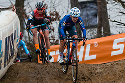 REALINI Gaia (ITA) during Women Elite race, 2019 UCI Cyclo-cross World Cup Heusden-Zolder, Belgium, 26 December 2019.<br /> <br /> Photo by Pim Nijland / PelotonPhotos.com <br /> <br /> All photos usage must carry mandatory copyright credit (Peloton Photos | Pim Nijland)