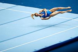 Goksu Uctas Sanli of Turkey at Floor Exercise during Qualifications of Artistic Gymnastics FIG World Challenge Koper 2018, on June 1, 2017 in Arena Bonifika, Koper, Slovenia. Photo by Matic Klansek Velej/ Sportida