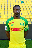 Prejuce Nakoulma during photoshooting of Fc Nantes for new season 2017/2018 on September 18, 2017 in Nantes, France. (Photo by Philippe Le Brech/Icon Sport)