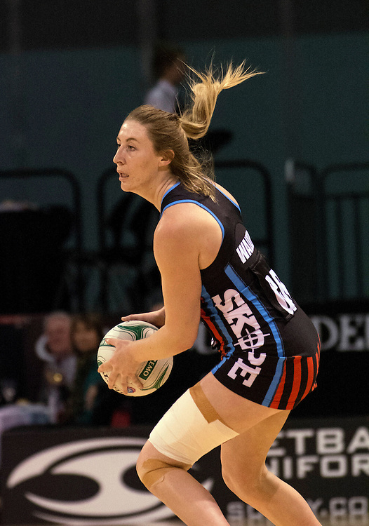 Tactix Zoe Walker against the Mystics in the ANZ Championship netball, CBS Arena, Christchurch, New Zealand, Monday, April 28, 2014.  Credit:SNPA / David Alexander