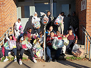 John L. McReynolds Middle School  Special Education Department hosted their annual toy drive on campus to benefit the school's Life Skills students.<br />