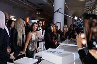 La La Anthony and Kim Kardashian attend Klarna STYLE360 NYFW Hosts S by Serena Fashion Show