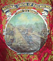 National Union of Railwaymen Leeds no2 branch banner ......