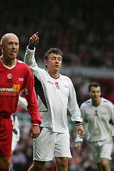 LIVERPOOL, ENGLAND - SUNDAY MARCH 27th 2005: Celebrity XI's Shane Ritchie during the Tsunami Soccer Aid match at Anfield. (Pic by David Rawcliffe/Propaganda)