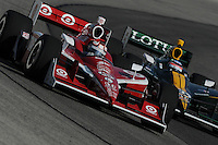 Scott Dixon, Takuma Sato, Milwaukee 225, The Milwaukee Mile, Wisconsin State Fairgrounds, Milwaukee, WI USA 6/19/2001