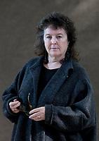 A portrait of Carol Ann Duffy at the Edinburgh International Book Festival 2012 in Charlotte Square Gardens<br /> <br /> Pic by Pako Mera