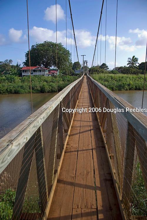 Swinging Bridge, Hanapepe,Kauai, Hawaii
