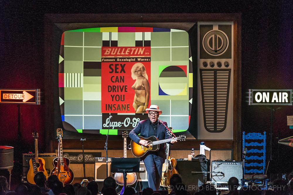 Elvis Costello Detour live at the Cambridge Corn Exchange on 18 June 2015