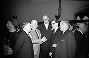 Opening of Kilkenny Design Workshop. Peter Farrelly, Town Clerk, Kilkenny; Walter S. Smithwick; His Excellency the Swedish Ambassador Peter Smithwick; and Stephen Deegan, County Manager, Kilkenny..15.11.1965