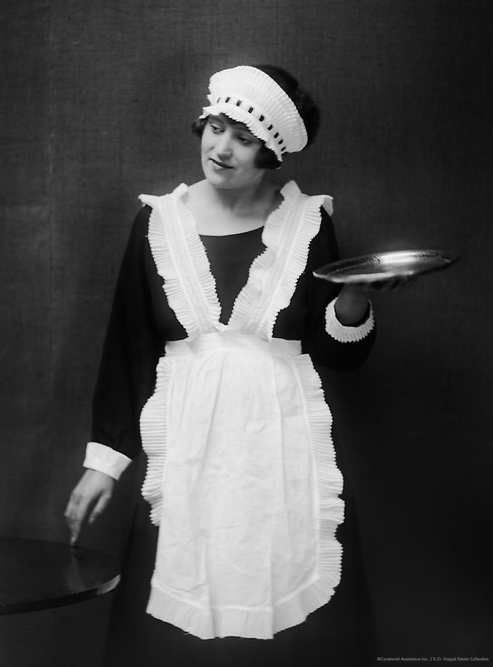 Type: Waitress: Passing it On, London, c1925