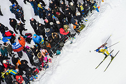 March 16, 2019 - –Stersund, Sweden - 190316 Fredrik Lindström of Sweden competes in the Men's 4x7,5 km Relay during the IBU World Championships Biathlon on March 16, 2019 in Östersund..Photo: Petter Arvidson / BILDBYRÃ…N / kod PA / 92269 (Credit Image: © Petter Arvidson/Bildbyran via ZUMA Press)