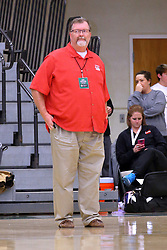 30 December 2016: Dan Highland. Rockford Lutheran v Camp Point Central girls, State Farm Holiday Classic Coed Basketball Tournament at Shirk Center, Bloomington Illinois