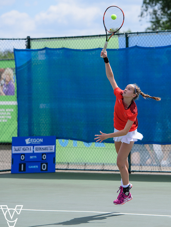 Team Tennis Schools National Championships Finals 2017 held at Nottingham Tennis Centre.  Talbot Heath School B<br /> <br /> Picture: Chris Vaughan Photography for the LTA<br /> Date: July 12, 2017