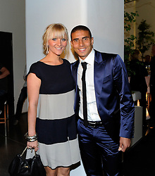 14.05.2011, U-Haus, Dortmund, GER, 1.FBL, Borussia Dortmund Meisterbankett im Bild Mohamed ZIDAN mit Freundin STINA, //   German 1.Liga Football ,  Borussia Dortmund Championscelebration, Dortmund, 14/05/2011 . EXPA Pictures © 2011, PhotoCredit: EXPA/ nph/  Conny Kurth       ****** out of GER / SWE / CRO  / BEL ******