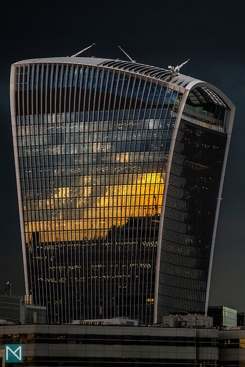 "20 Fenchurch Street, also known as ""The Walkie-Talkie"""