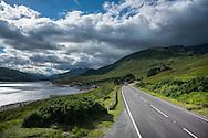 Europe, United Kingdom, Scotland, Highway near Fort William
