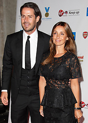 Jamie and Louise Redknapp  arriving for the inaugural Mo Farah Foundation fundraising ball  in London on Saturday, 1st September 2012. Photo by: Stephen Lock / i-Images