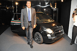 EDOARDO TEODORANI-FABRI at a party to launch the Gucci designed Fiat 500 customized by Gucci Creative Director Frida Giannini in collaboration with FIAT's Centro Stile, held at Fiat, 105 Wigmore Street, London on 27th June 2011.
