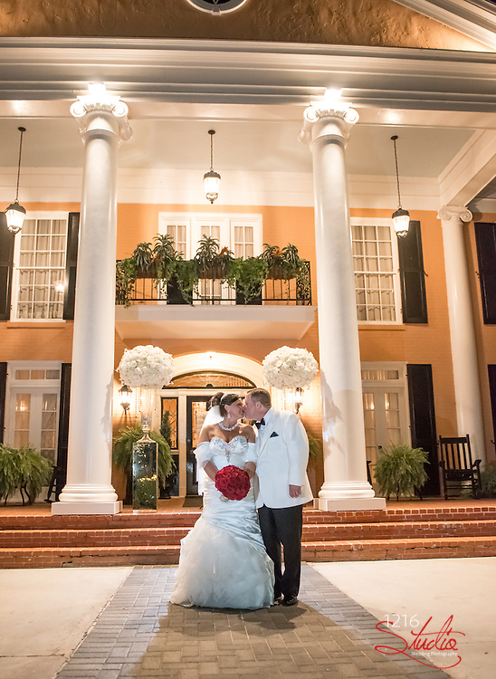 Kent & Dena Wedding Photography Samples | Hotel Monteleone and Southern Oaks Plantation| 1216 Studio Wedding Photographers