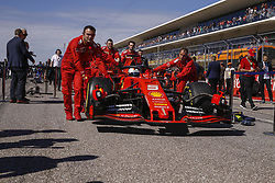 November 3, 2019, Austin, United States of America: Motorsports: FIA Formula One World Championship 2019, Grand Prix of United States, ..#5 Sebastian Vettel (GER, Scuderia Ferrari Mission Winnow) (Credit Image: © Hoch Zwei via ZUMA Wire)
