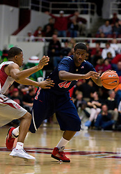February 27, 2010; Stanford, CA, USA;  Arizona Wildcats forward Solomon Hill (44) during the first half against the Stanford Cardinal at Maples Pavilion. Arizona defeated Stanford 71-69.