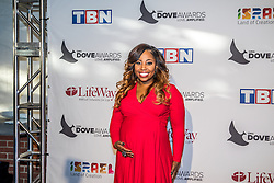 October 11, 2016 - Nashville, Tennessee, USA - Janice Gaines at the 47th Annual GMA Dove Awards  in Nashville, TN at Allen Arena on the campus of Lipscomb University.  The GMA Dove Awards is an awards show produced by the Gospel Music Association. (Credit Image: © Jason Walle via ZUMA Wire)