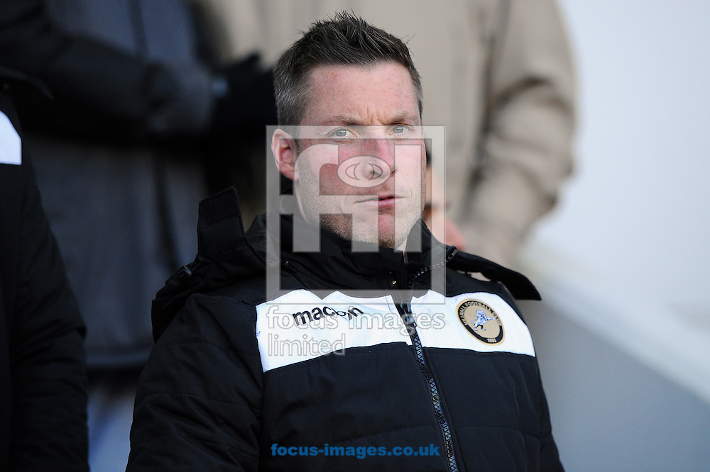 Neil Harris of Millwall during the Sky Bet Championship match at The Den, London<br /> Picture by Seb Daly/Focus Images Ltd +447738 614630<br /> 17/01/2015