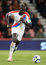 Crystal Palace's Mamadou Sakho during the Premier League match at the Vitality Stadium, Bournemouth