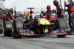 Motorsports / Formula 1: World Championship 2011, Testing in Barcelona, test, 01 Sebastian Vettel (GER, Red Bull Racing),