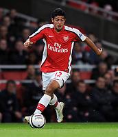 Fotball<br /> England<br /> Foto: Fotosports/Digitalsport<br /> NORWAY ONLY<br /> <br /> Carlos Vela<br /> Arsenal 2008/09<br /> Arsenal V Sheffield United (6-0) 23/09/08<br /> The Carling Cup