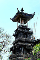 A temple tower in Bali, Indonesia.