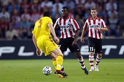 12-09-2006 VOETBAL: CHAMPIONS LEAGUE: PSV - LIVERPOOL: EINDHOVEN<br /> PSV en Liverpool eindigt zoals ze begonnen zijn 0-0 / Jermaine Pennant<br /> ©2006-WWW.FOTOHOOGENDOORN.NL