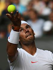Wimbledon 2018 - Day Seven -  09 July 2018