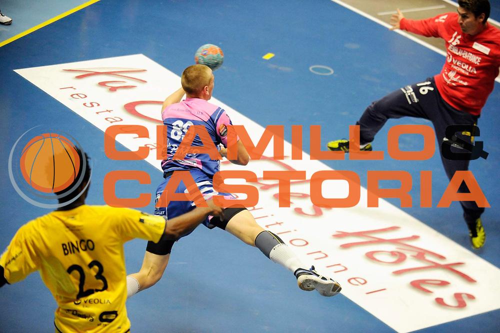 DESCRIZIONE : Handball Tournoi de Cesson Homme<br /> GIOCATORE : BOUILLY Antoine<br /> SQUADRA : Cesson<br /> EVENTO : Tournoi de cesson<br /> GARA : Cesson Tremblaye<br /> DATA : 06 09 2012<br /> CATEGORIA : Handball Homme<br /> SPORT : Handball<br /> AUTORE : JF Molliere <br /> Galleria : France Hand 2012-2013 Action<br /> Fotonotizia : Tournoi de Cesson Homme<br /> Predefinita :