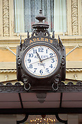 Louisiana, New Orleans, Canal Street, Historic Adlers Sidewalk Clock, Adlers Jewelery Store Since 1898