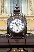 Louisiana, New Orleans, Canal Street, Historic Adlers Sidewalk Clock, Adlers Jewelery Store Since 1898