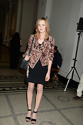 LAURA CARMICHAEL at the opening of Club To Catwalk: London Fashion In The 1980's an exhibition at The V&A Museum, London on 8th July 2013.