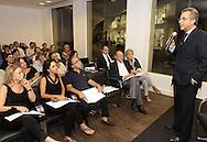 Andrea Matarazzo participa de encontro com  apoiadores.