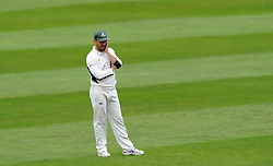 Worcestershire's Daryl Mitchell looks on - Photo mandatory by-line: Harry Trump/JMP - Mobile: 07966 386802 - 21/08/15 - SPORT - CRICKET - LV County Championship Division One - Day One - Somerset v Worcestershire - The County Ground, Taunton, England.