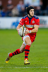Bristol Rugby Fly-Half Matthew Morgan in action - Mandatory byline: Rogan Thomson/JMP - 19/12/2015 - RUGBY UNION - Goldington Road - Bedford, England - Bedford Blues v Bristol Rugby - B&I Cup.