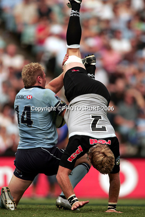 NSW Waratahs v Sharks. Aussie Stadium. 4th March 2006. Photo by Paul Seiser/Seiser Photography