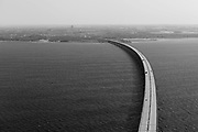 &Ouml;resund Bridge (&Ouml;resundsbron). May 2019.<br /> The &Ouml;resund Bridge is a combined railway and motorway bridge across the &Ouml;resund strait between Sweden and Denmark.<br /> Photo Ola Torkelsson <br /> Copyright Ola Torkelsson &copy;