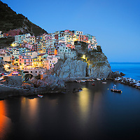 Manarola is a gorgeous little town in the Cinque Terre on the Med.