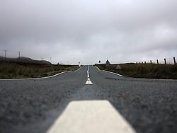 UK SCOTLAND ISLE OF SKYE 8OCT13 - The road from Portree to Staffin on the Isle of Skye, western Scotland.<br /> <br /> jre/Photo by Jiri Rezac<br /> <br /> © Jiri Rezac 2013