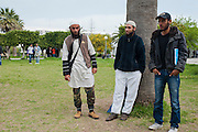 Salafi Students in the Mannouba University, Tunis. <br />