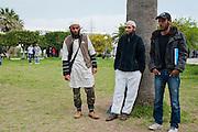 Salafi Students in the Mannouba University, Tunis. <br /> <br /> Etudiants salafistes dans universit&eacute; Mannouba, Tunis