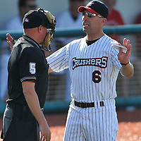 7.11.09 John Massarelli ejected/Rascals at Lake Erie Crushers